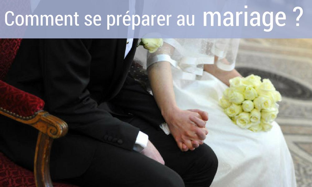 Comment se préparer au mariage