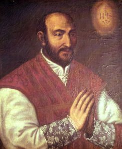 SAINT IGNACE DE LOYOLA (1491-1556).