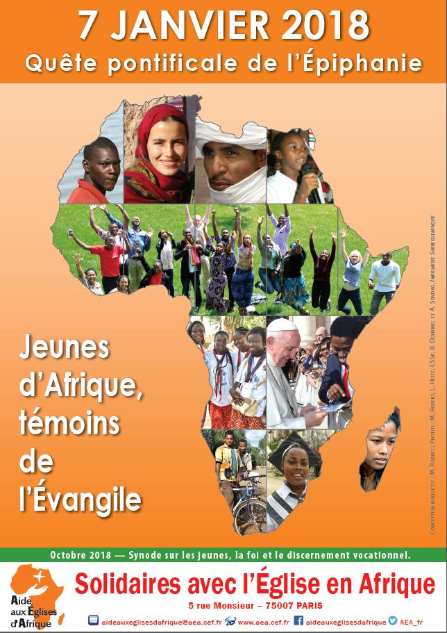 Quete Epiphanie Eglises d'Afrique