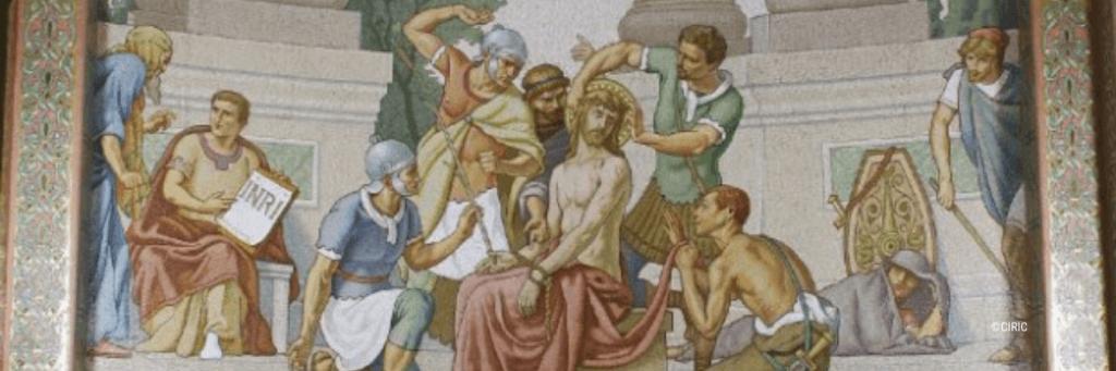 bannière d'article haut de page mystère rosaire douloureux