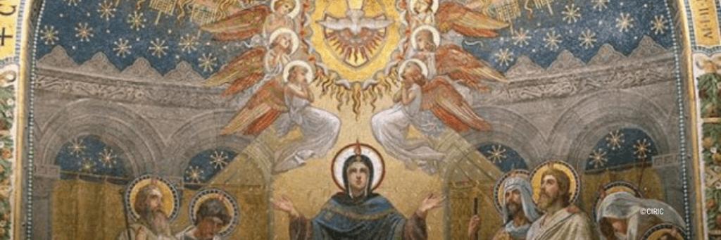 Site - bannière d'article haut de page mystere glorieux rosaire