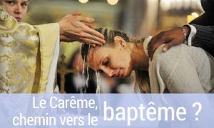 chemin vers le baptême
