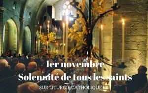 1er novembre la solennité de tous les saints (2)