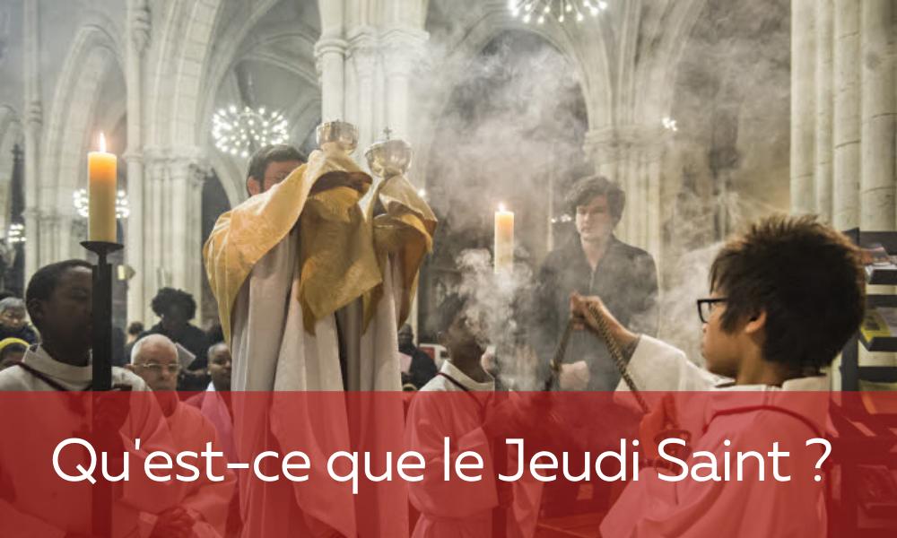 jeudi saint dossier eucharistie 2020