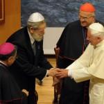 Benoît XVI rencontre les représentants d'organisations interreligieuses
