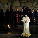 Benoît XVI à Yad Vashem