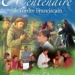 Affiche 8ème centenaire ordre franciscain 1209 - 2009