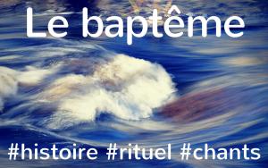 Baptême liturgie