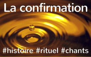 Confirmation liturgie