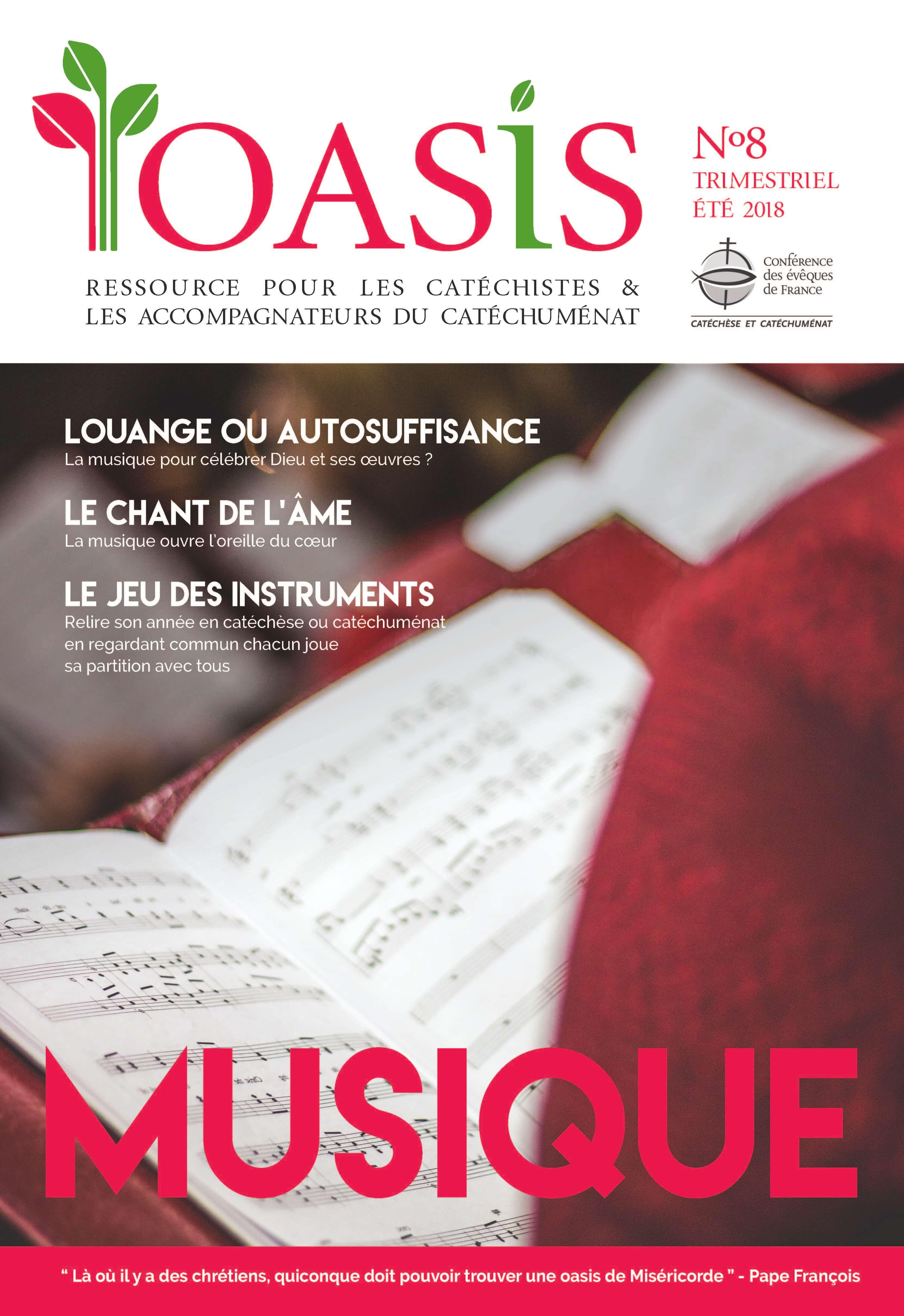 Couverture de L'Oasis n8