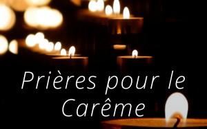Prières Carême