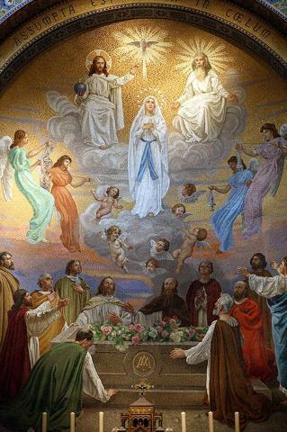 Ascension de la Vierge