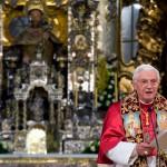 6 novembre 2010: Benoît XVI à Saint Jacques de Compostelle, Espagne.