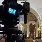 Messe télévisée caméra