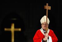 Cardinal Lustiger et croix