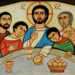 Liturgie copte à Notre-Dame d'Egypte à Paris/ La Cène