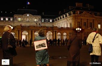 Cercle de silence à Paris