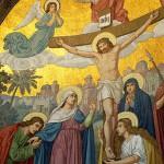 Christ croix, Lourdes
