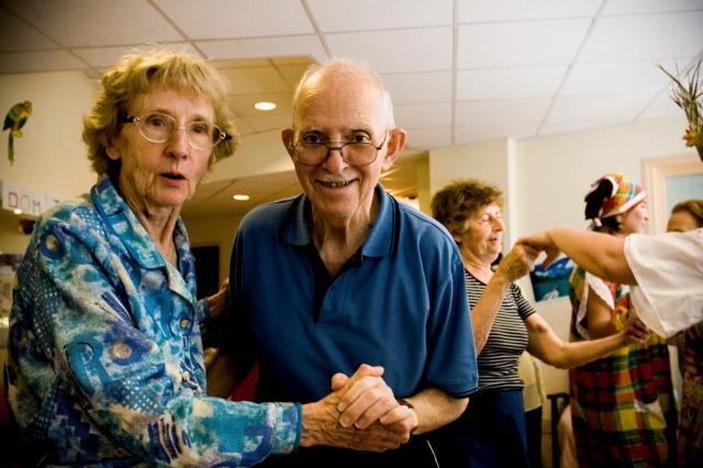 personnes âgées grands-parents senior