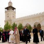 Benoît XVI et le Prince Gahzi Bin Muhammad Bin Talal