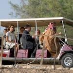 ABDULLAH II avec Benoît XVI au bord du Jourdain