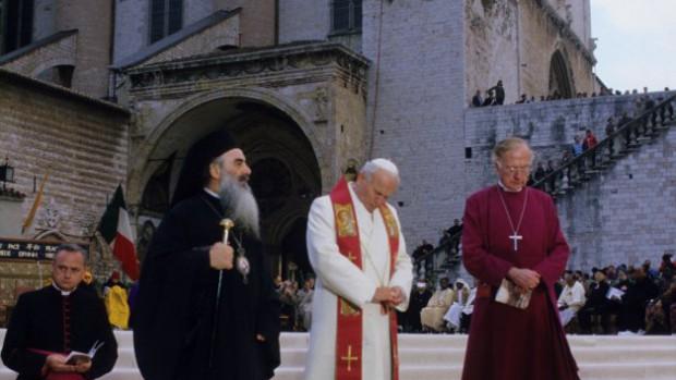 Assise: Rencontre oecuménique et interreligieuse, 1986