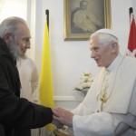 Benoît XVI et Fidel Castro à Cuba