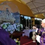 28 mars 2012: Benoît XVI célébrant une messe pl. de la Révolution, la Havane, Cuba, Amérique centrale.
