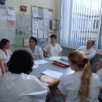 Equipe médicale hôpital de Lille unité de soins palliatifs prof. Didier de Broucker