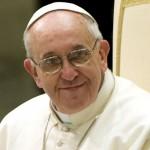 Le pape François recoit les médias