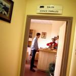 Espace pour les familles des malades en unité de soins palliatifs