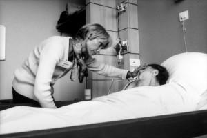 Bénévole en unité de soins palliatifs