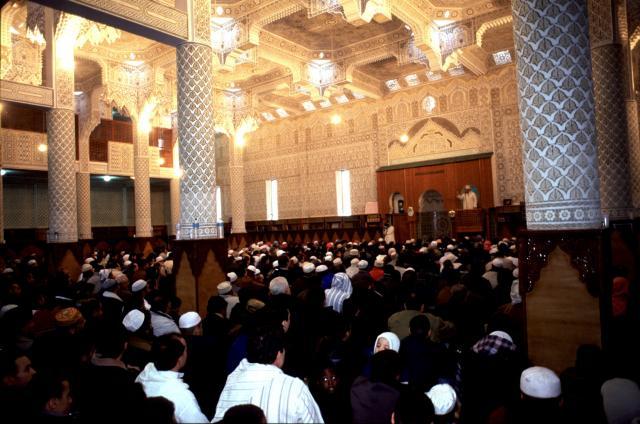 Fin du Ramadan mosquée d'Evry Essonne
