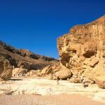 Marche dans le désert du Néguev Terre sainte