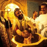 SYRIE / ALEP : BAPTEME SYRIEN-ORTHODOXE L'EGLISE SYRIENNE ORTHODOXE DEPEND DU PATRIARCAT SYRIEN-ORTHODOXE D'ANTIOCHE