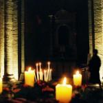 Abbaye de Sylvanes Aveyron : messe de Noël