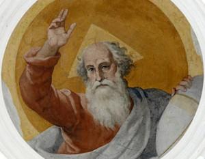 Dieu, Santa Cecilia in Trastevere, Rome, Italie