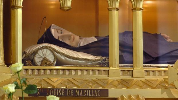 Corps de sainte Louise de Marillac