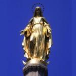 Colonne de la Vierge, Zagreb, Croatie, Europe