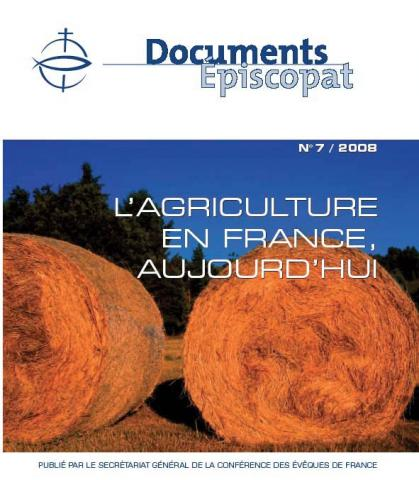 couverture du document épiscopat n°7 de 2008