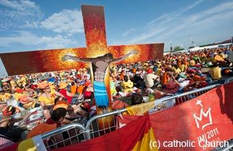 Les chrétiens en Europe, Croix des JMJ