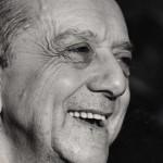 Dom Helder Camara portrait noir et blanc