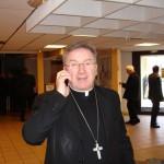 Mgr Luigi Ventura, Assemblée plénière Lourdes mars 2010