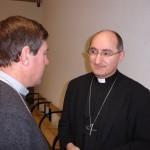 Mgr Beau et Mgr Giraud, assemblée plénière de Lourdes mars 2010