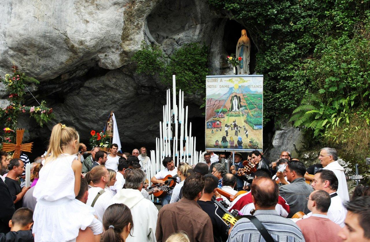 Pèlerinage des Gitans à Lourdes