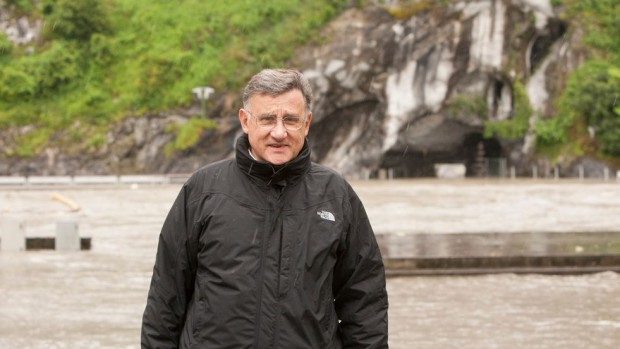 père Horatio Brito_recteur des Sanctuaires de Lourdes_inondations