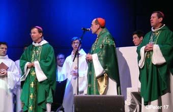 Mgr Gashignard, Mgr Barbarin, Mgr Le Vert