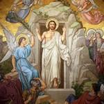Jesus sortant du tombeau