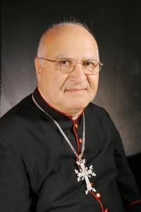 Mgr Jean TEYROUZ Évêque de l8217éparchie de Sainte-Croix de Paris des Arméniens