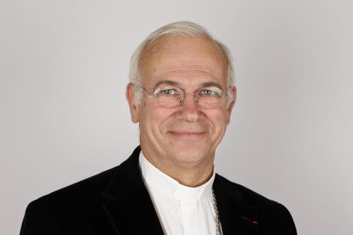 Mgr Stanislas Lalanne, évêque de Pontoise